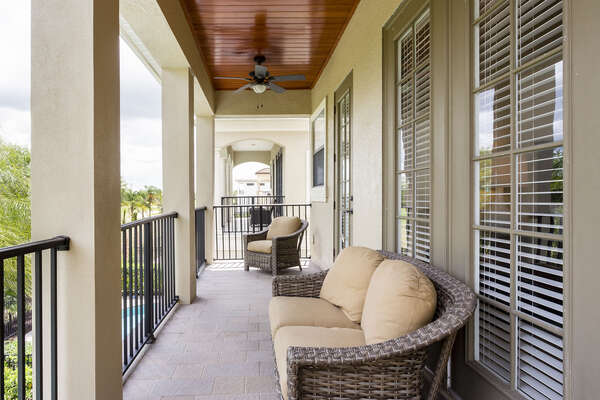 Relax on your balcony with great views