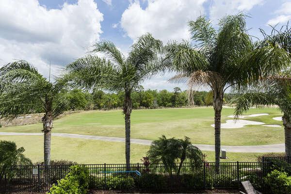 Enjoy your golf course views