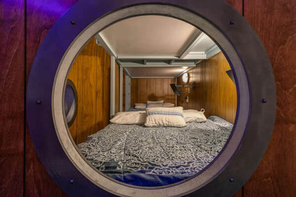 Each bunk bed with have their own SMART TV