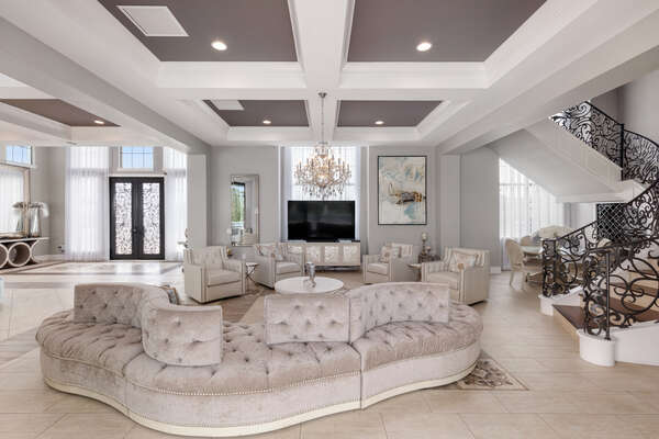 Enjoy all the luxurious furniture this home has to offer