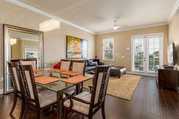 This third floor condo is sure to impress