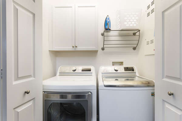 This property features an in-unit washer and dryer