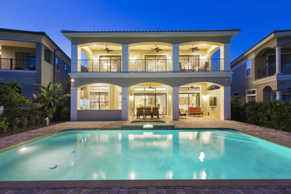 Enjoy all this home has to offer during the evenings