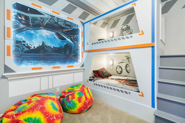 The perfect room for kids to play and have fun