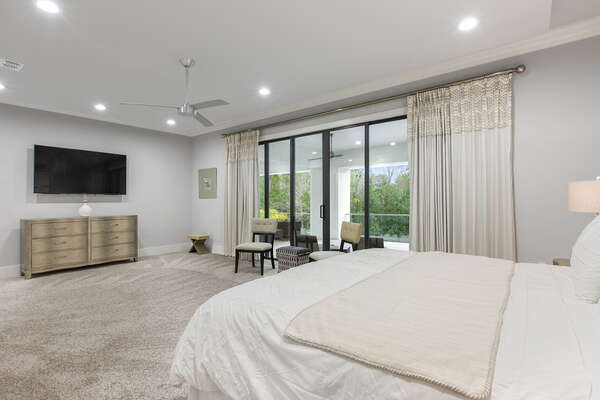Grand Master Suite 3 located on the second floor