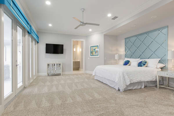 Master Suite 4 located located on the second floor