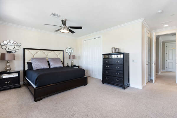 The Master Suite 1 is located on the second floor