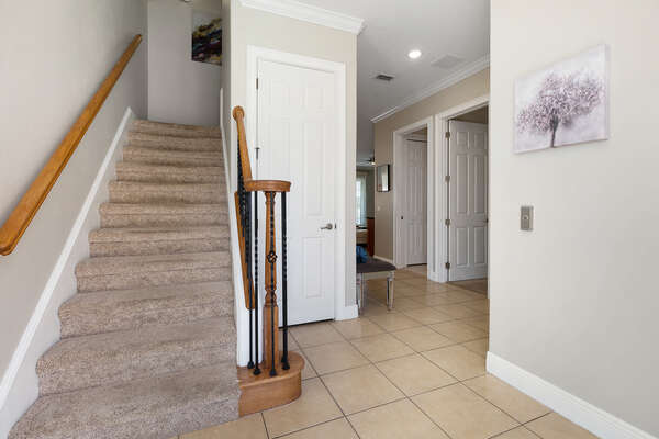 Head upstairs to see what else this home has in store
