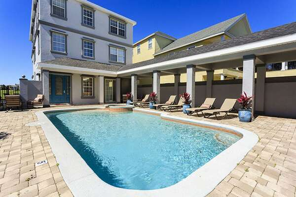 Spend endless hours by the pool area