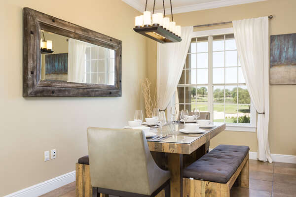 Dining table perfect for family meals