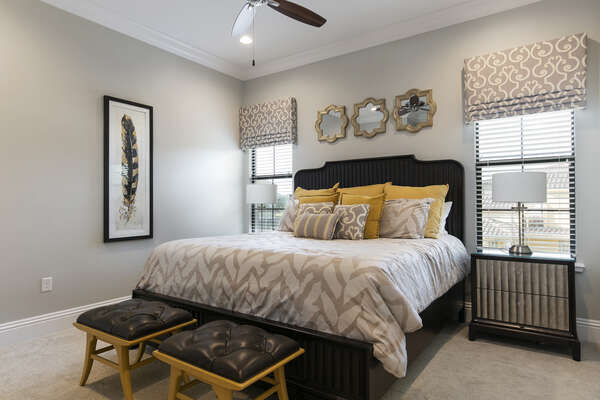 Master Suite 4 is pure bliss