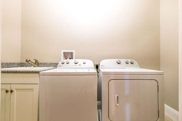 Your own washer and dryer