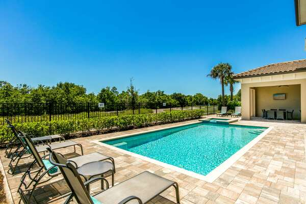 Soak up the Florida sun throughout much of the day