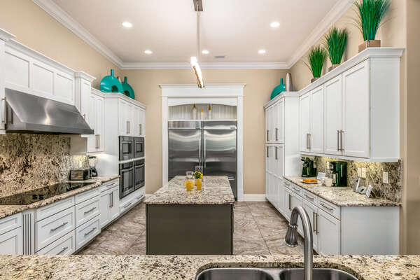A gourmet kitchen to cook up any meal