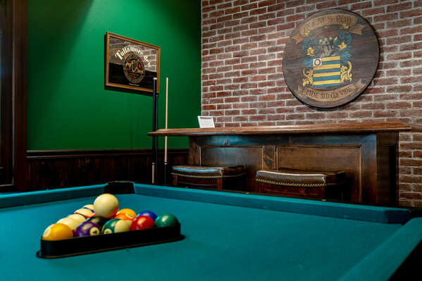 Challenge someone to a game of pool