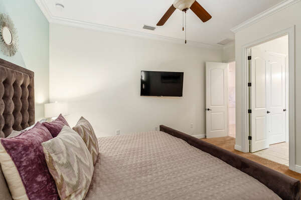 Perfect for comfort and relaxation after a busy day of enjoying the Orlando Area Attractions.