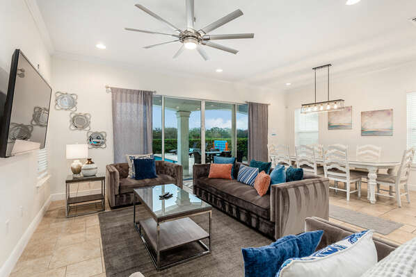 You will be amazed by the open floor plan layout