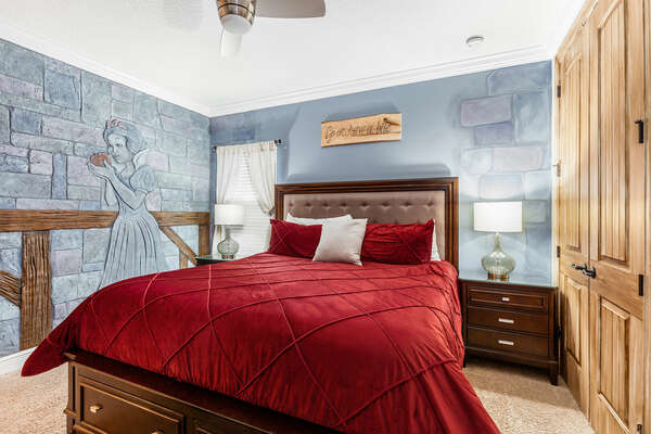 Relax in this luxurious master suite