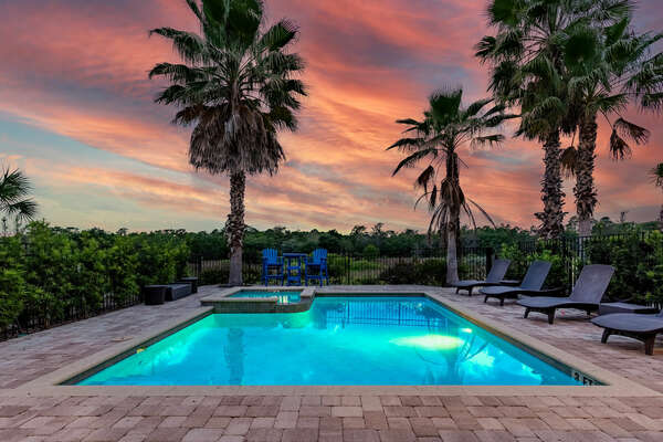 There`s nothing like having paradise right in your backyard