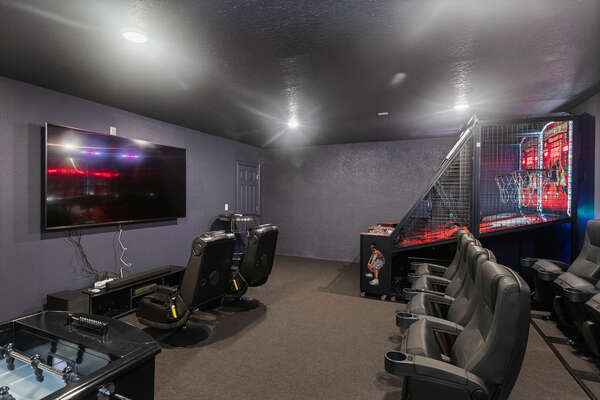 Pick a movie, grab a popcorn and head to your own private room