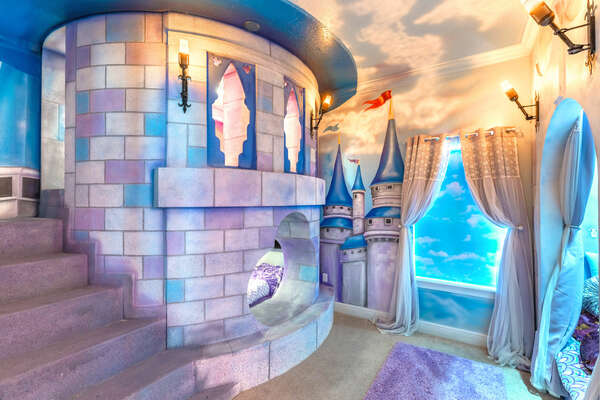 Every royal deserves a stay in their own custom castle