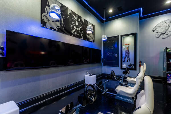 Play your favorite games on an Xbox One or Playstation 4 in these awesome game chairs