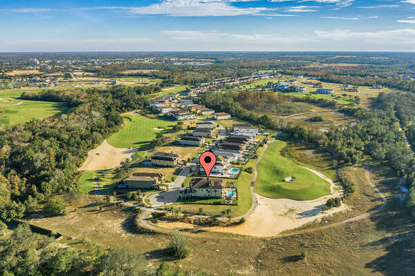 Check out this unbeatable location on the Jack Nicklaus Signature golf course