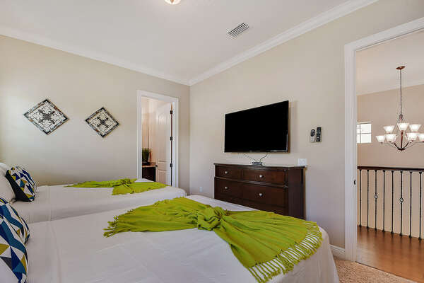 Comfortable beds, your own TV and an ensuite bathroom