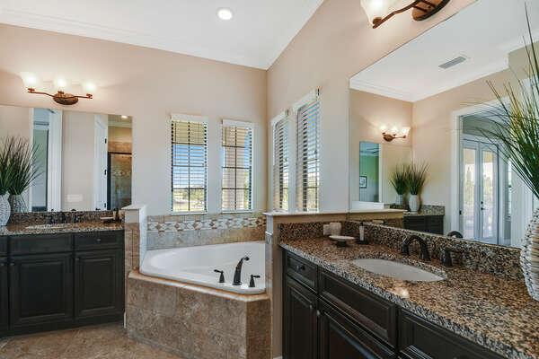Soak in this amazing bathtub