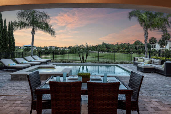 Enjoy an outdoor meal with your family