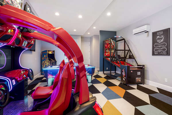 Head into KidZone Game Room, full of the latest and greatest arcade games