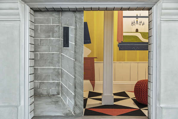 Peek inside this adorable secret room, only accessible through the secret passage entrance