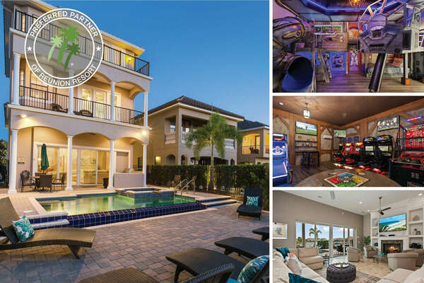 Welcome to House of Views, a three-story luxury vacation villa with custom built kids bedrooms, games room, and infinity edge pool | PHOTOS TAKEN: May 2020