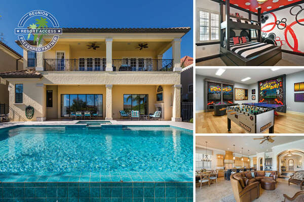 Indulge in this luxurious 5,888 sq. ft. villa on your next vacation in Muirfield Villa | PHOTOS TAKEN: December 2017