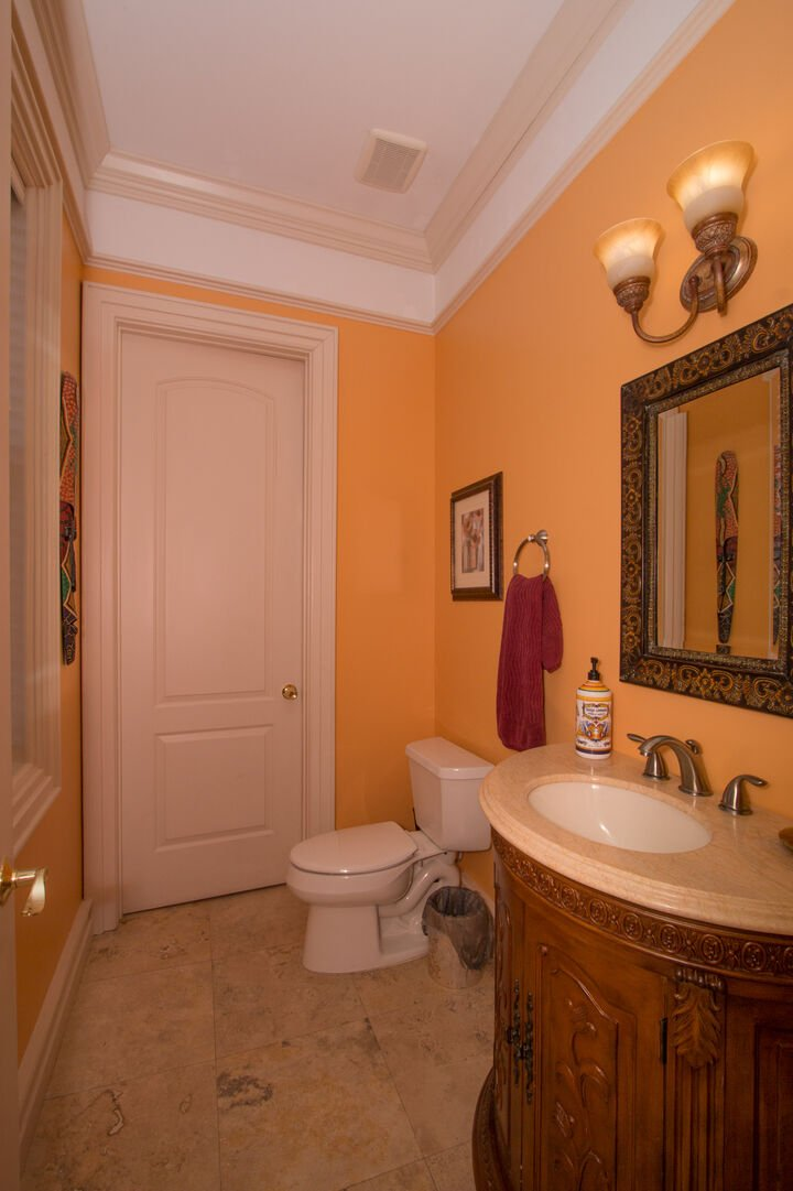 Half bath in our vacation home in Fort Myers Beach