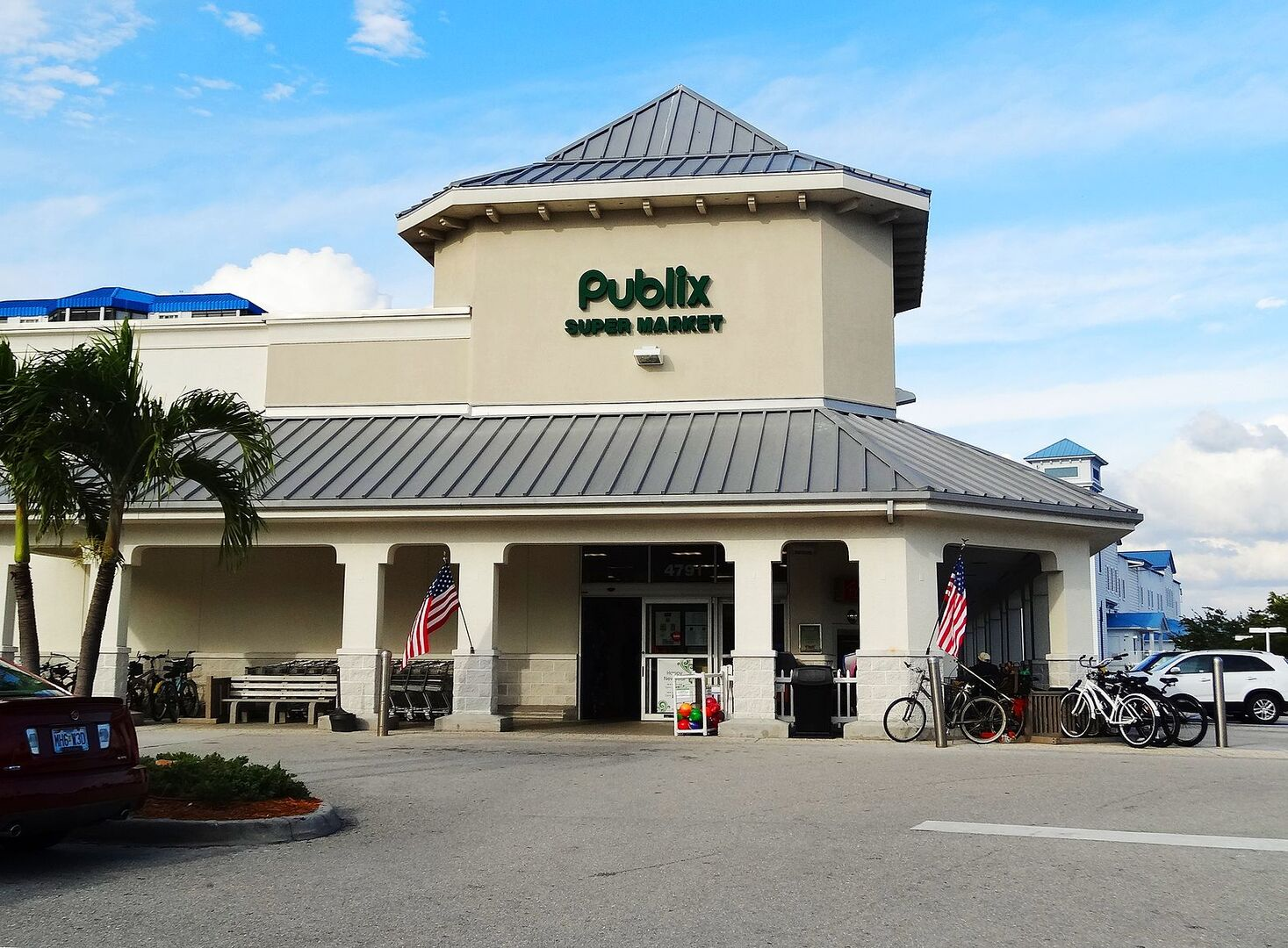 Publix on the island near our vacation home in Fort Myers Beach