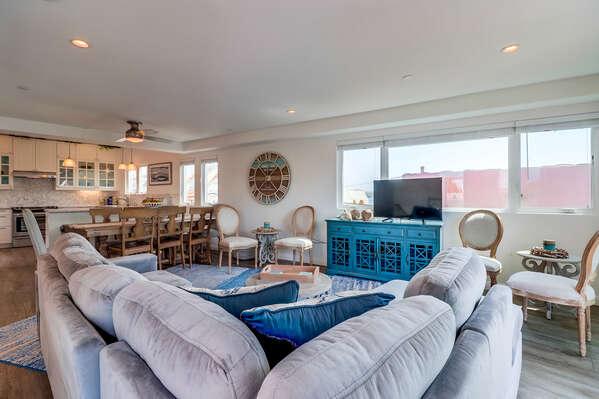 Spacious Open Floor Plan in Home.