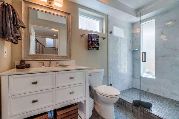 Full Bath - First Floor