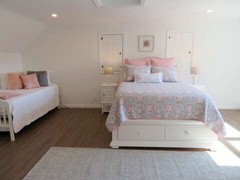 Bedroom 3 with a Queen and Trundle (2 twins) - 162 Owl Pond Brewster Cape Cod - New England Vacation Rentals