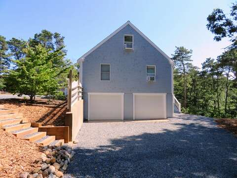 Plenty of room in the driveway. The garage may be used for bike storage. No cars in the garage please - 162 Owl Pond Brewster Cape Cod - New England Vacation Rentals