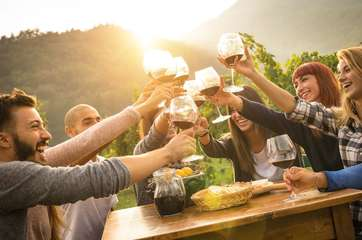 The Wine Stay's in-house sommelier can curate a wine tasting just for you!