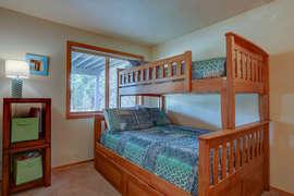 Bedroom 3 - Double / Twin + Trundle - sleeps 4