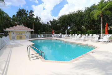 Cool off with a dip in the community pool