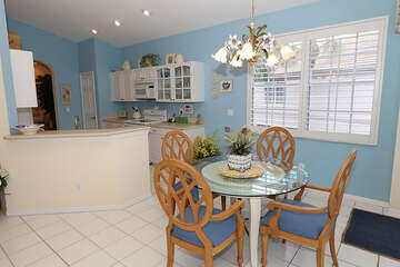 Charming kitchen and dining space