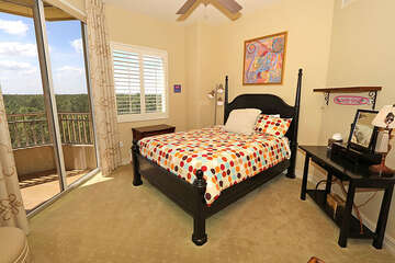 Guest room offers a fabulous view