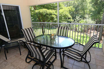 Enjoy the warm Florida weather with outside dining
