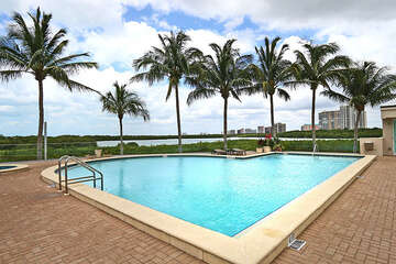 Enjoy the warm Florida weather at this beautiful pool