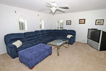 2nd living room space
