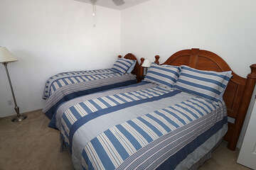 2 Double beds for guests