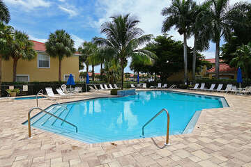 Enjoy the warm Florida weather at the resort style pool